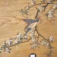 「杉谷行直」筆の杉戸絵(表)