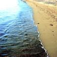 海辺 波打ち際