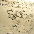砂浜 SOS