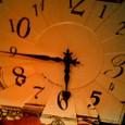 文字盤の歪んだ時計
