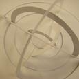 ケント紙の立体構成:半球