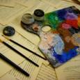 油彩道具 パレット